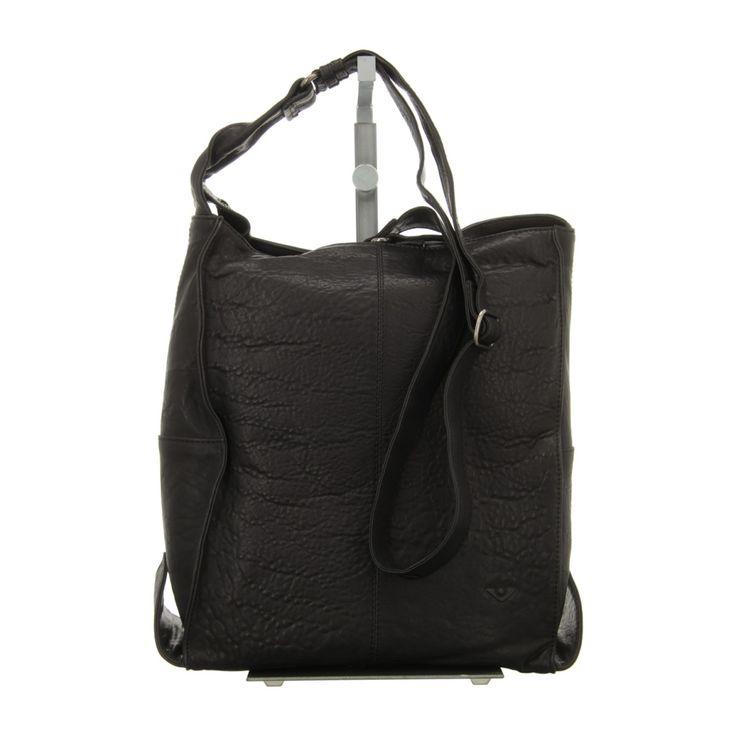 NEU: Voi Leather Design Handtaschen Beutel - 30425 SZ - schwarz -