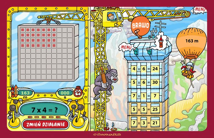 © Barnabus - #Gra edukacyjna ▪ Educational #game MathTower - screen 07.