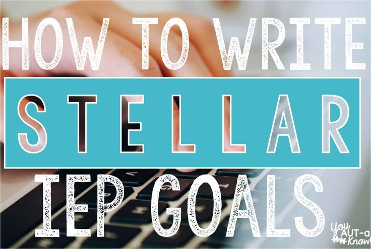 writing an iep Writing clear, measurable annual iep goals is a difficult skill to master the good  news is that goal writing is easy once the steps are revealed.