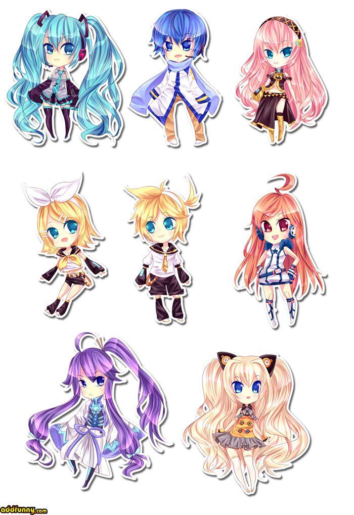 Vocaloid. Miku, Kaito, Luka, Rin, Len, Ai, Gakupo, SeeU ...  Vocaloid. Miku,...