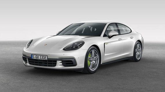 Гибридный седан Порше Панамера S E-Hybrid 2018 / Porsche Panamera Turbo S E-Hybrid 2018
