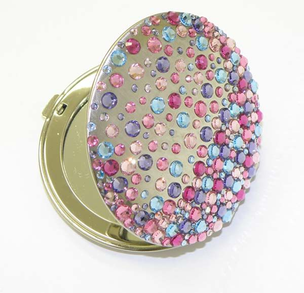 Adorable Ideas Of Handy Mirrors With Swarovski Crystal