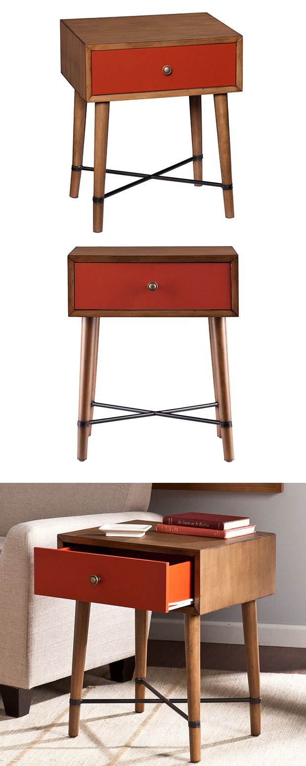 Maybe Youu0027d Like To Try Out The Mid Century Modern Style, But Only A Dash  Of It. Then This Accent Table Is The Perfect Way To Start.