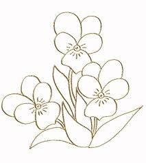 Afbeeldingsresultaat voor цветы контурные рисунки