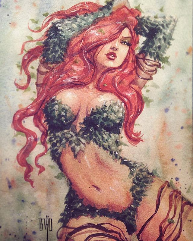 Poison Ivy by Brao - Visit to grab an amazing super hero shirt now on sale!