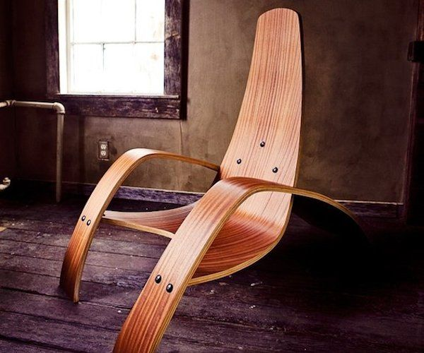 The Bent Plywood #Lounge #Chair created by Ciseal is an elegant piece of #furniture that will add a touch of old-fashioned charm to your indoor or outdoor décor.