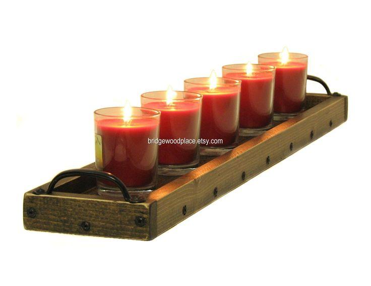 Best candle tray ideas on pinterest diy