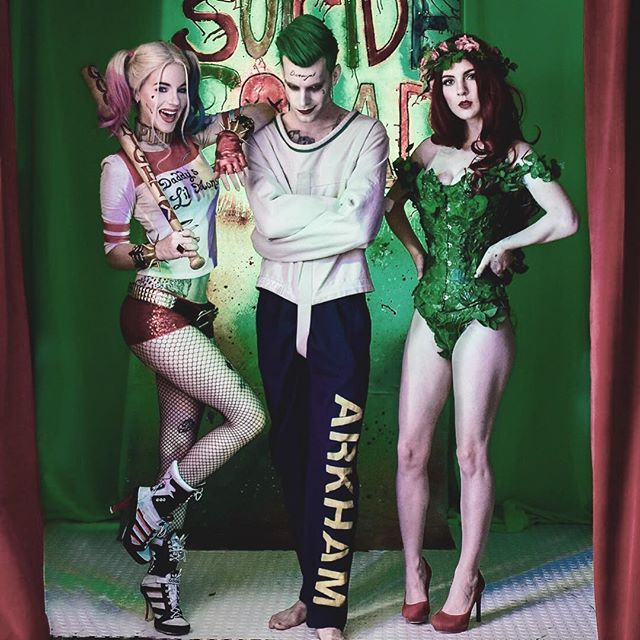harley quinn suicide squad tumblr - The Joker And Harley Quinn Halloween Costumes