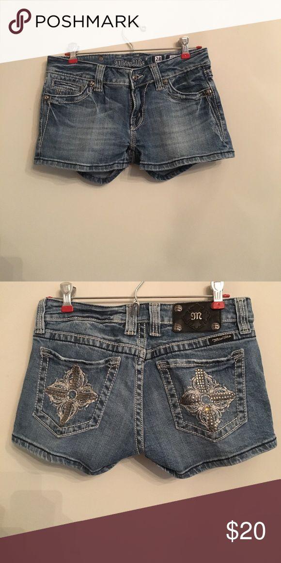 Miss me shorts Miss me brand shorts, light wash Miss Me Shorts Jean Shorts