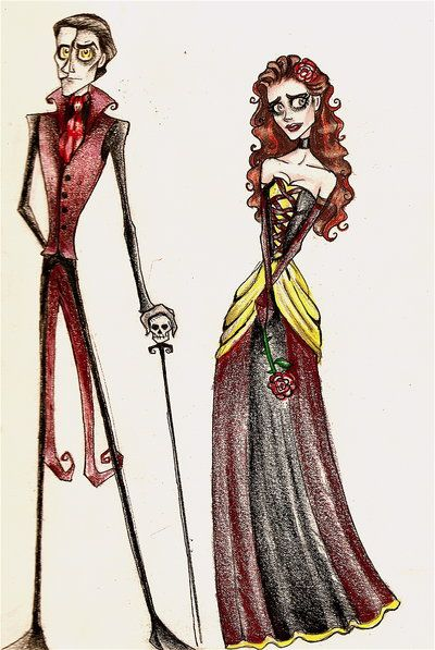 Tim Burton Phantom of the Opera...I would be thrilled to see this! C'mon Tim Burton!