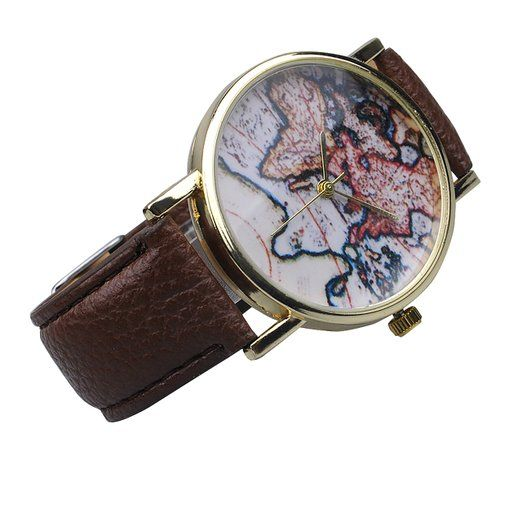 14 best school images on pinterest schools shoe bag and 6th form unisex men women fashion analog display digital quartz birthday gift faux leather straps world map pattern gumiabroncs Gallery