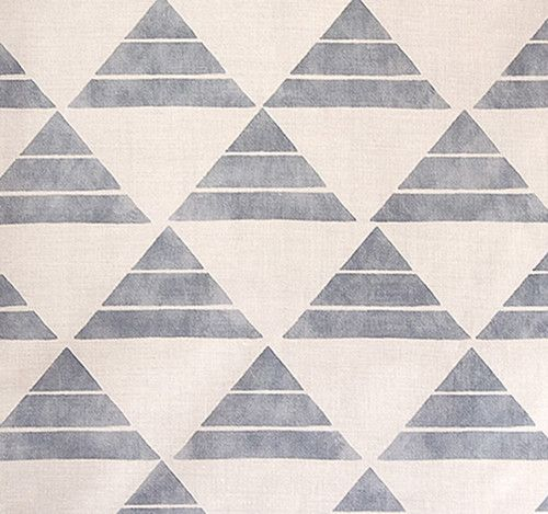 These new textiles from Zak + Fox are gorgeous. Inspired by a Japanese fairytale, perfectly geometric.