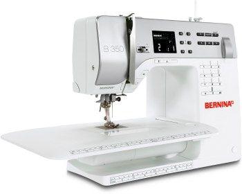 Macchina per cucire Bernina 350 PE - Selezione diretta dei punti utili e delle funzioni.