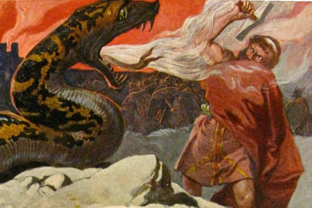 "10 Norse Mythological ""Facts"" About Ragnarok - Unless you've been living under a rock, you've either seen the trailers or at least heard of the movie Thor: Ragnarok, which is about to take over your local movie theater. And unless you're surprisingly familiar with Norse mythology, you may have found yourself wondering... - http://toptenz.net"