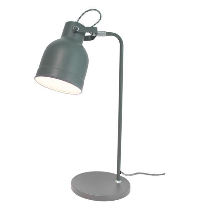 Grå Enfärgad Bordslampa Bolt - By Rydéns