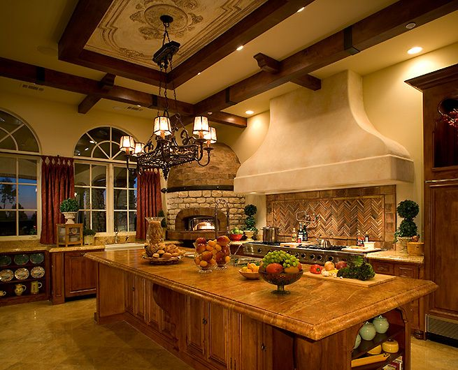 Best 25 hacienda kitchen ideas on pinterest spanish for Santa fe home design