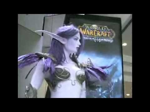 Totally Hot Night Elf from World of Warcraft
