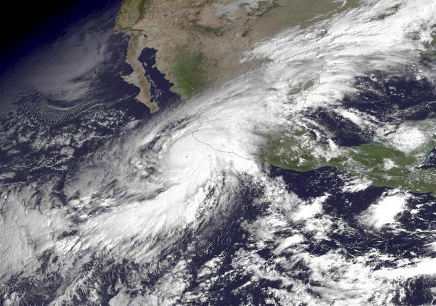 #dangerous #hurricane #pacific #coast