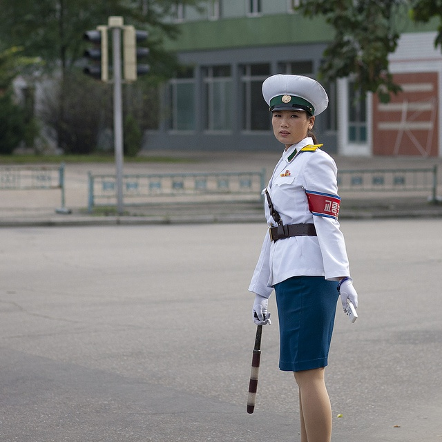 north korea dating police