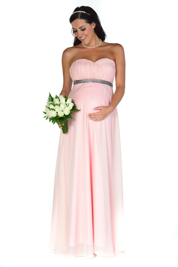 Pink maternity bridesmaid dress vosoi classy maternity bridesmaid dresses ombrellifo Gallery