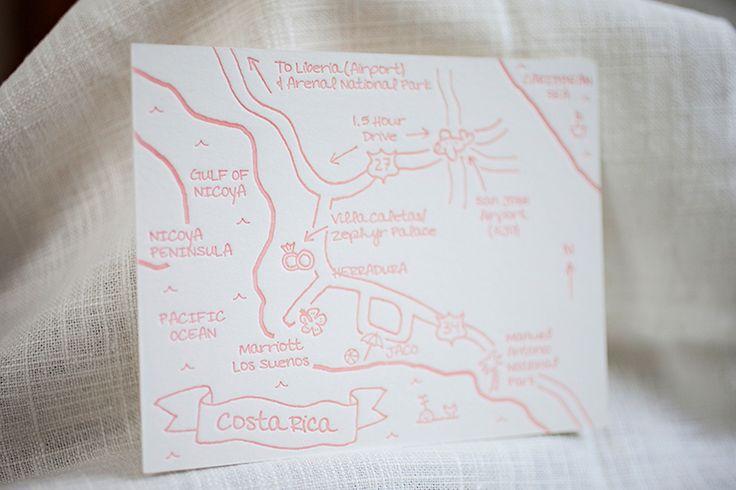 Beach-Inspired Destination Wedding Invitations by Inkprint Letterpress via Oh So Beautiful Paper (6)