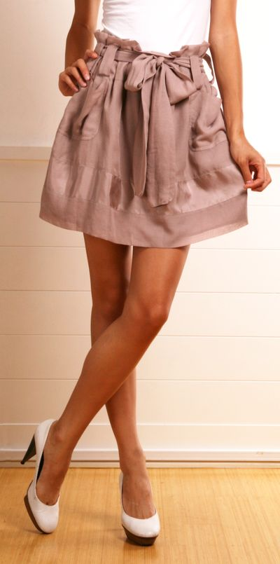 See by Chloe Blush skirt