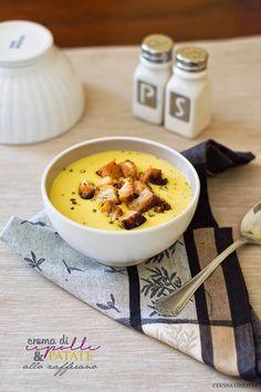 Crema di cipolle e patate allo zafferano | CUCINA GHIOTTA