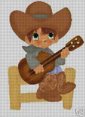 Musical Cowboy Crochet Pattern