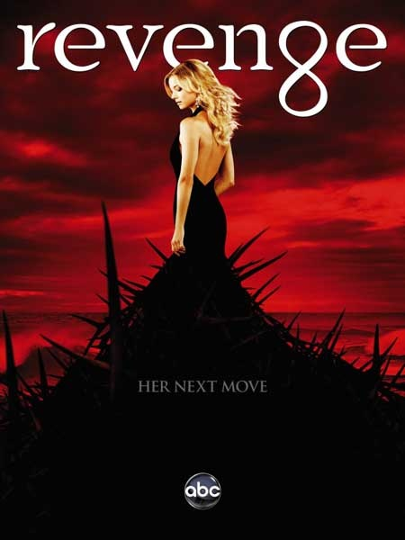Revenge (2011-) Emily Thorne (Emily VanCamp) comes to the Hamptons, renting a home next to the Grayson family to enjoy the summer. However, it is revealed that Emily has been to the Hamptons before, as a little girl. In reality, Emily is Amanda Clarke, whose father was framed for a crime he did not commit and sent to prison for life, and later murdered in the prison. . Now, she has returned to the Hamptons, intent on revenging his death.