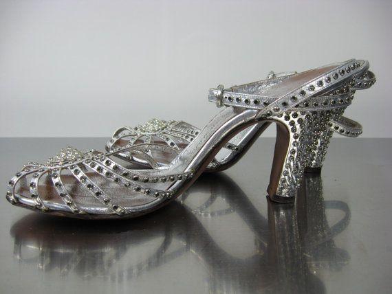 1930's Saks Fifth Avenue Fenton Footwear // by WildWoodRoseVintage, $95.00