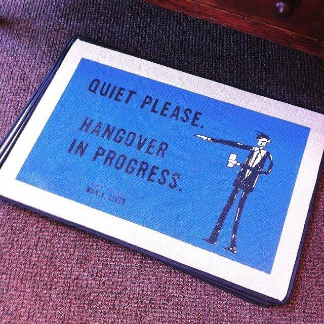 Fancy - Quiet Please Doormat