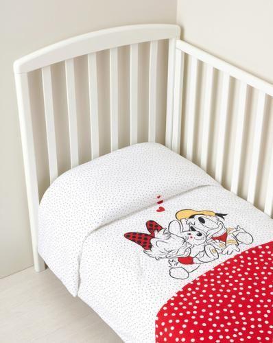 #Trapunta estiva disney di paperina e parerino  ad Euro 42.99 in #Prenatal #Trapunte e coperte letto