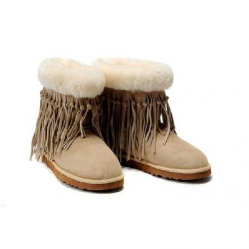 UGG Tassel Short 5835 boots Sand