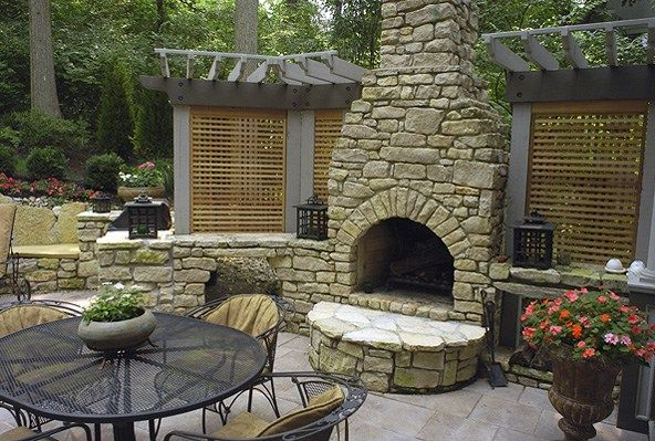 Nice Outdoor Fireplace Pizza Oven Combo Read More On