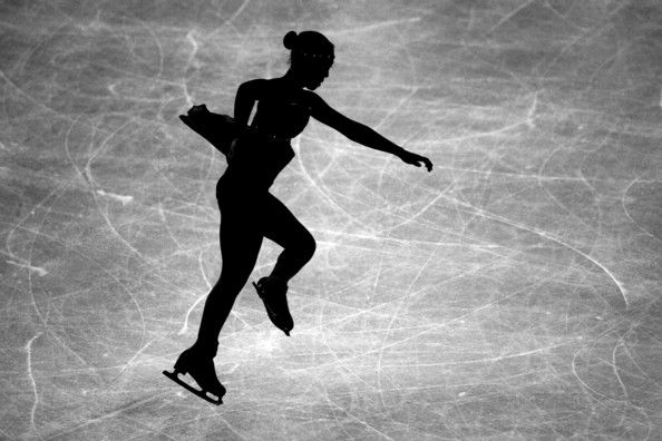 Victoria Muniz of Puerto Rico - day two of the ISU World Figure Skating Championships on March 27, 2012 in Nice, France.