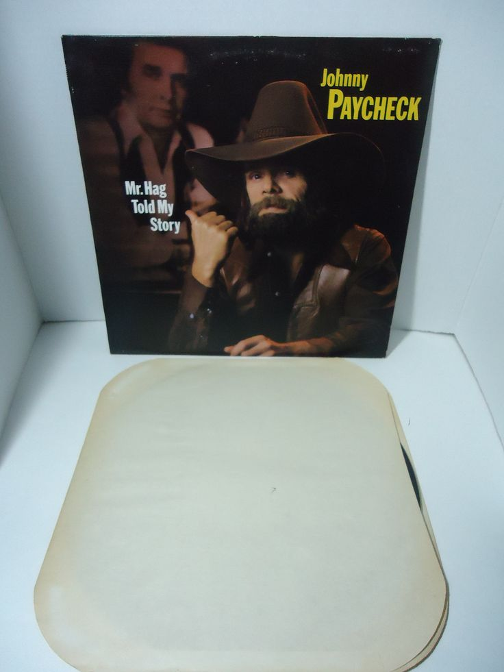 Johnny Paycheck ‎– Mr. Hag Told My Story