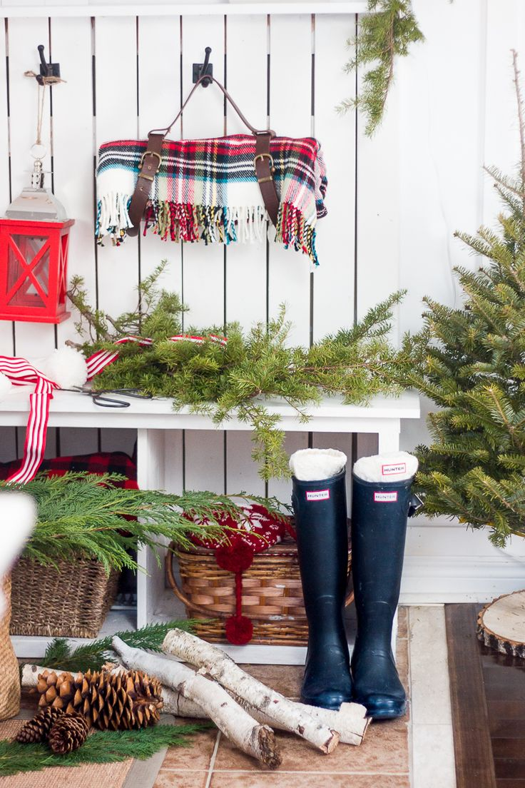 get your home ready for the holidays with these charming farmhouse christmas decorating ideas with lodge style christmas decor - Cabin Style Christmas Decorations