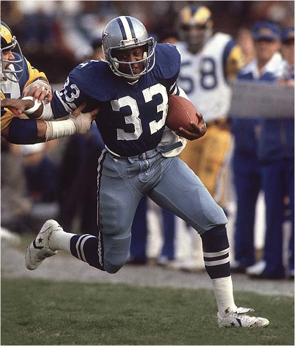tony dorsett - NFL 12, 2,936 car, 12,739 yds, 4.3 avg, 77 tds