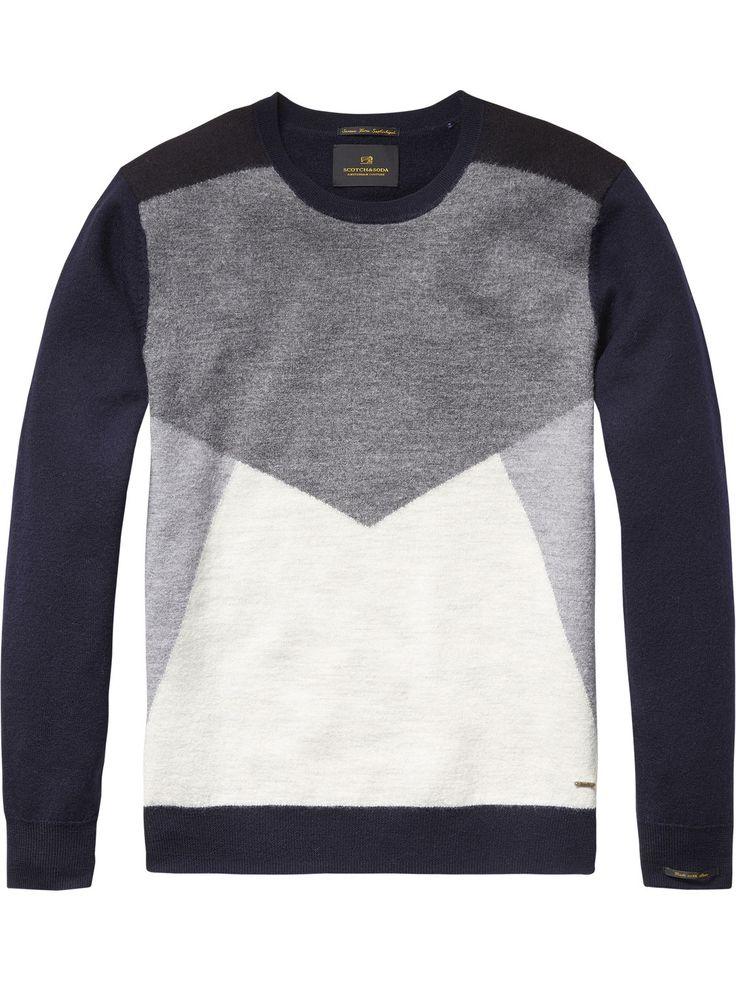 Pullover mit Intarsien | Pullover | Herrenbekleidung von Scotch & Soda