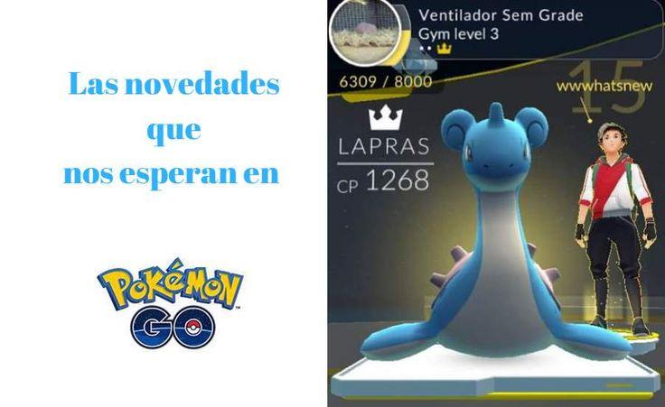#Juegos #juego #pokémon_go Compañero Pokémon, más tipos de inciensos y otras novedades que preparan en Niantic
