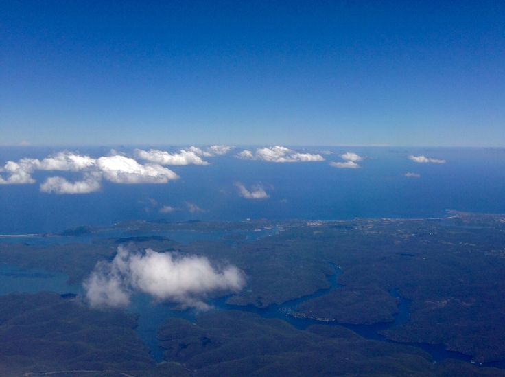North of Sydney by air