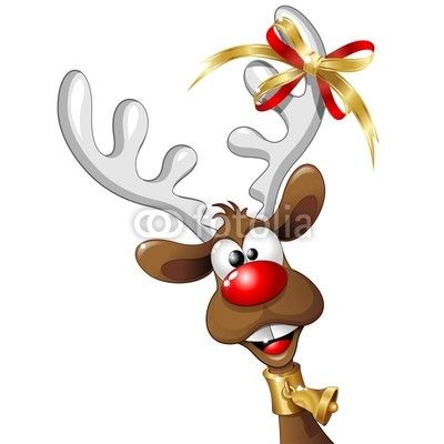 BluedarkArt The Chameleon's Colors: Fun & Cute Christmas Reindeer Cartoon!
