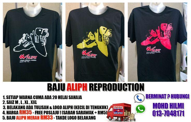 Baju Aliph Reproduction - Hilmi