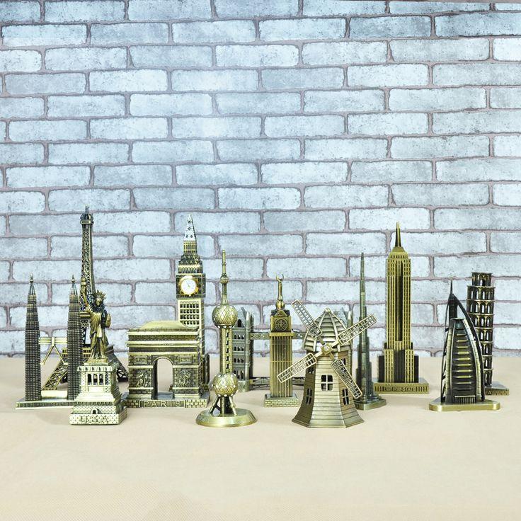 Cheap Metallo 3D Architettonici di Fama Mondiale Artigianato in Bronzo Modello di Edificio home decor Torre Eiffel/Statua della Libertà/Empire State costruzione, Compro Qualità Figurine & Miniature direttamente da fornitori della Cina: nome: 3D Modello In Metallomateriale: Metallo