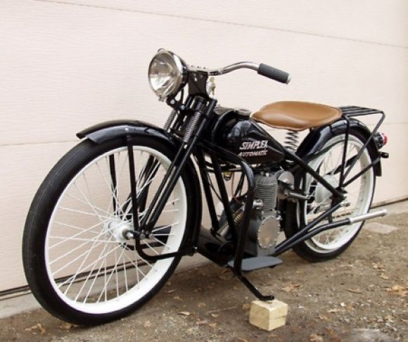 Easiest Rider: 1953 Simplex Automatic