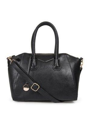 Textured Zip Tote Bag by Studio.W