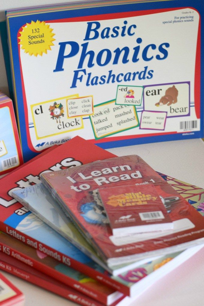 How We Use A Beka Phonics by This Little Home of Mine (more relevant for 3+)