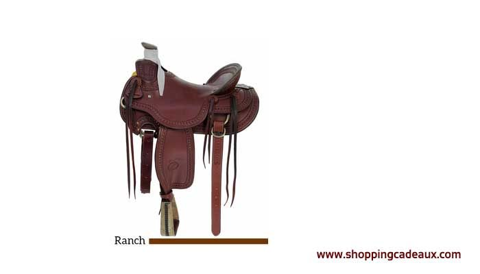 If you're looking for a high quality ranch saddle that will take the abuse of ranch work and still look great at the end of the day, this Billy Cook Arbuckle Wade would be a perfect match.    Designed by Billy Cook on a Wade rawhide covered full quarter horse tree for strength and durability.   #Billy Cook #horse rider #horse saddle #leather saddle #ranch saddle