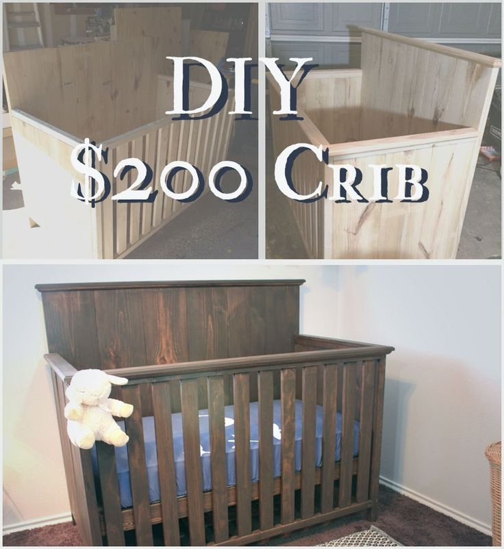 "If you read my ""Expecting Caleb"" post, you know I agonized over the crib and coveted cribs from Pottery Barn and Restoration Hardware. I really wanted that giant back board look that has such a strong presence. Thankfully though, I started to ponder how hard could it be to build your own crib? Not that …"