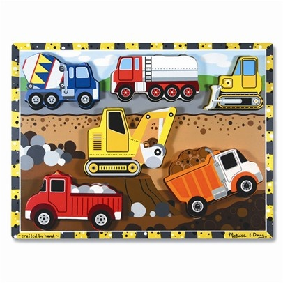 6 piece chunky puzzle (Melissa and Doug)